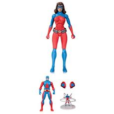 Dc Comics Icons Atomica Deluxe Af Action Figure