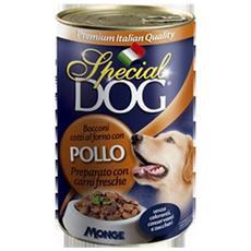 Cane Adulto, Bocconi Pollo Gr 400