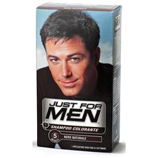 JUST FOR MEN - Shampoo Color. nero Naturale - Colorante Per Capelli a040f030ed19