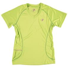 T-shirt Donna Bts Running Xs Verde