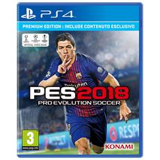 PS4 - Pro Evolution Soccer 2018 PES Premium Edition