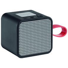 Speaker Portatile Bluetooth GSB 710 3W RMS Nero / Argento