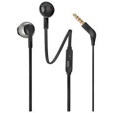 Auricolari T205 In Ear con Microfono Nero