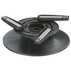 Il modulo da tavolo per videoproiettori EPT 6525 offre unesclusiva libertà di movimento portatile per il vostro videoproiettore quando volete metterlo in qualsiasi posto su un tavolo o su uno scaffale. Il connettore universale per videoproiettore incluso EPA 6505 si adatta a quasi tutti i videoproie