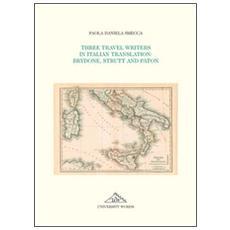 Three travel writers in italian translation. Brydone, Strutt and Paton