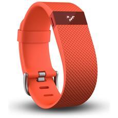 FITBIT - Charge HR Arancione Braccialetto Wireless Battito...