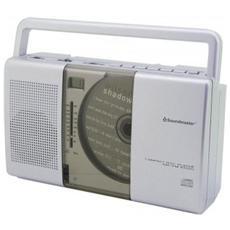 RCD1150, Analogico, AM, FM, Lettore, CD, CD-R, CD-RW, LCD, CA / Batteria