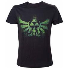 Nintendo - Zelda Green Print (T-Shirt Unisex Tg. M)
