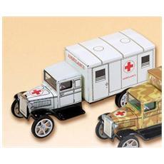 0605 Camion Hawkeye Ambulanza Bianco Modellino