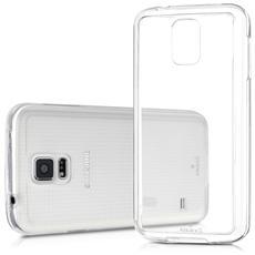 Custodia Cover Anukku? Ultra Fina Trasparente Morbida In Air Gel Per Samsung Galaxy S5 G900f + Pellicola