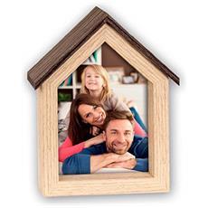 Casa 10x15 legno Portafoto WS9146