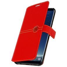 Custodia Portafoglio Façonnable Per Galaxy Note 8 - Rosso