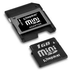 Scheda miniSD Fujitsu S26391-F2486-L800 1 GB - 1 Scheda