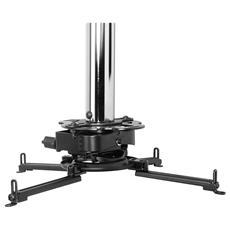 MOD-PRSSKIT100, Soffitto, 22 kg, 1098 - 1123 mm, 360, Nero, Cromo, 11,8 cm