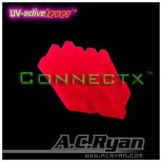 Connectx™ Floppy Power 4pin Female - UVRed 100x, 4pin Female, Rosso