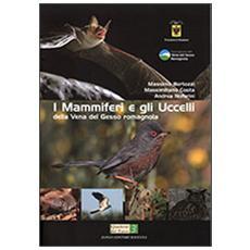 I mammiferi e gli uccelli della vena del Gesso romagnola