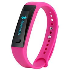 TX-38 Fitness Armband Active con Display Oled Bluetooth per Android e iOS - Rosa