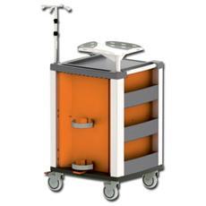 Compact Kart Emergenza - Arancione