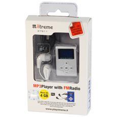 LETTORE MP3 4GB SILVER