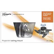 EPC 6545 Soluzione da soffitto per videoproiettore
