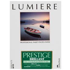 Prestige brillante 100 fogli Carta fotografica 12,7x17,8 cm