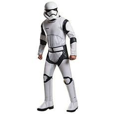 Star Wars Episode Vii Costume Deluxe Stormtrooper Size L