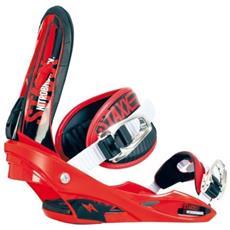 Attacco Snowboard Uomo Staxx Rosso 38-44