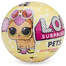 LOL Surprise Pets Sfera con Animaletto a Sorpresa 7 Livelli Modelli Assortiti