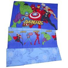 Avengers Completo Lenzuola Letto Singolo