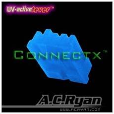 Connectx™ Floppy Power 4pin Female - UVBlue 100x, 4pin Female, Blu