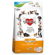 Cibo per cani Pollo Puppy Medium 12 Kg