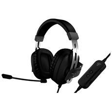 Cuffie Gaming TH40 con Microfono Supporto Virtual Surround 7.1 Colore Nero