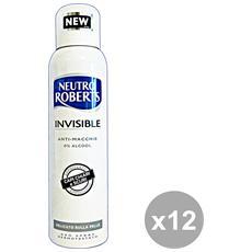 Set 12 Deodorante Spray Invisible 150 Ml. Cura Del Corpo