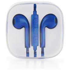 Kit Hf Stereo Iphone 3g / 3gs / 4g / 5/5s / 5se / 6 New Box Azzurro