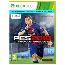 X360 - Pro Evolution Soccer 2018 PES Premium Edition