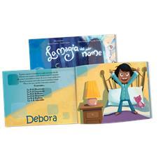La Magia Del Mio Nome - Libro Personalizzato Per Bambine - Protagonista Bambina Mora Con Pelle Scura - Contattaci per personalizzare