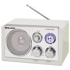 HRA-1200W, Portatile, Analogico, AM, FM, UM3