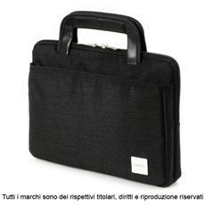 """KD. Z2 12"""" Valigetta ventiquattrore Nero borsa per notebook"""