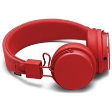 Cuffie Zound Plattan 2 con microfono e controllo volume - tomato