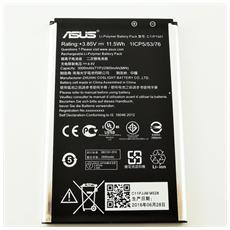 Batteria Ricambio 3000 Mah Asus Zenfone 2 Selfie Laser Ze550kl Zd551kl Ze601kl C11p1501