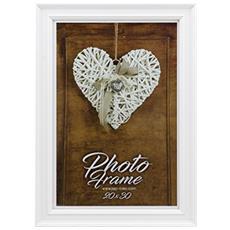 Hemilton 4 bianco 15x20 cornice portafoto legno V93684