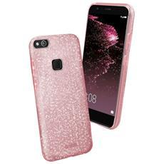 Cover Huawei P10 Lite Glitter Rosa