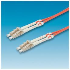 FO cable 62.5/125µm, LC / LC, Orange, 1m 1m LC LC Arancione cavo a fibre ottiche