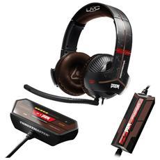 Cuffie Gaming con Microfono Y-350X Doom Edition Connessione Cavo colore Nero