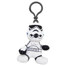 Star Wars - Portachiavi Peluche Stormtrooper 8 Cm