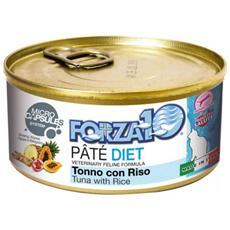 Forza10 Gatto, Dieta Tonno E Riso Gr. 170