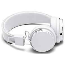Cuffie Zound Plattan 2 con microfono e controllo volume - Bianco