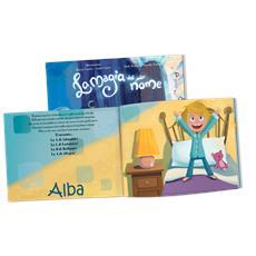 La Magia Del Mio Nome - Libro Personalizzato Per Bambine - Protagonista Bambina Bionda - Contattaci per personalizzare