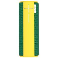 Speaker Wireless Portatile Boom Bluetooth colore Verde / Giallo