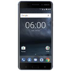 "N6 Blu 32 GB 4G / LTE Dual Sim Display 5.5"" Full HD Slot Micro SD Fotocamera 16 Mpx Android Italia"